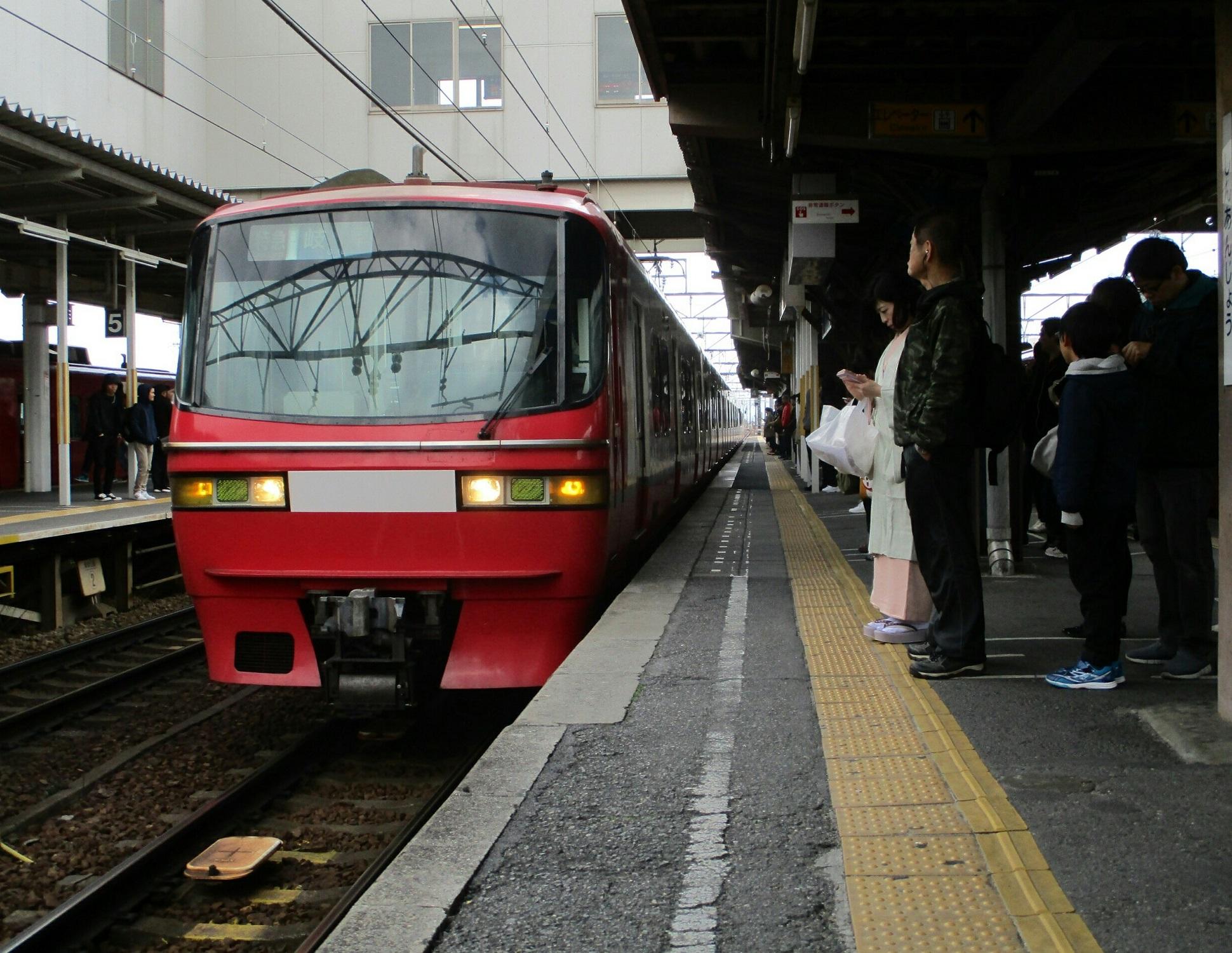 2019.3.31 (7) しんあんじょう - 岐阜いき特急 1940-1500