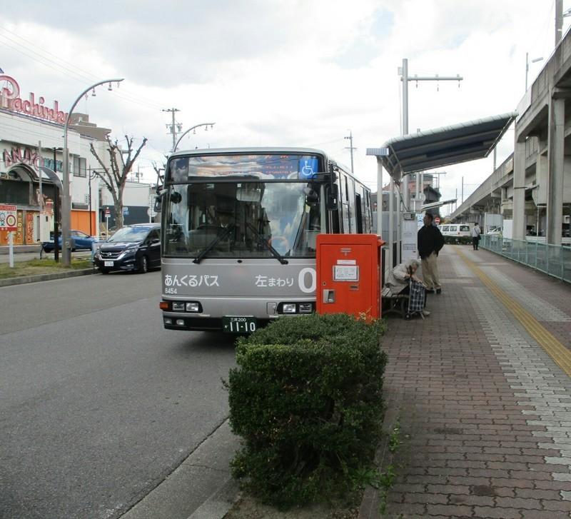 2019.3.31 (13) みなみあんじょう - あんくるバス 1640-1490