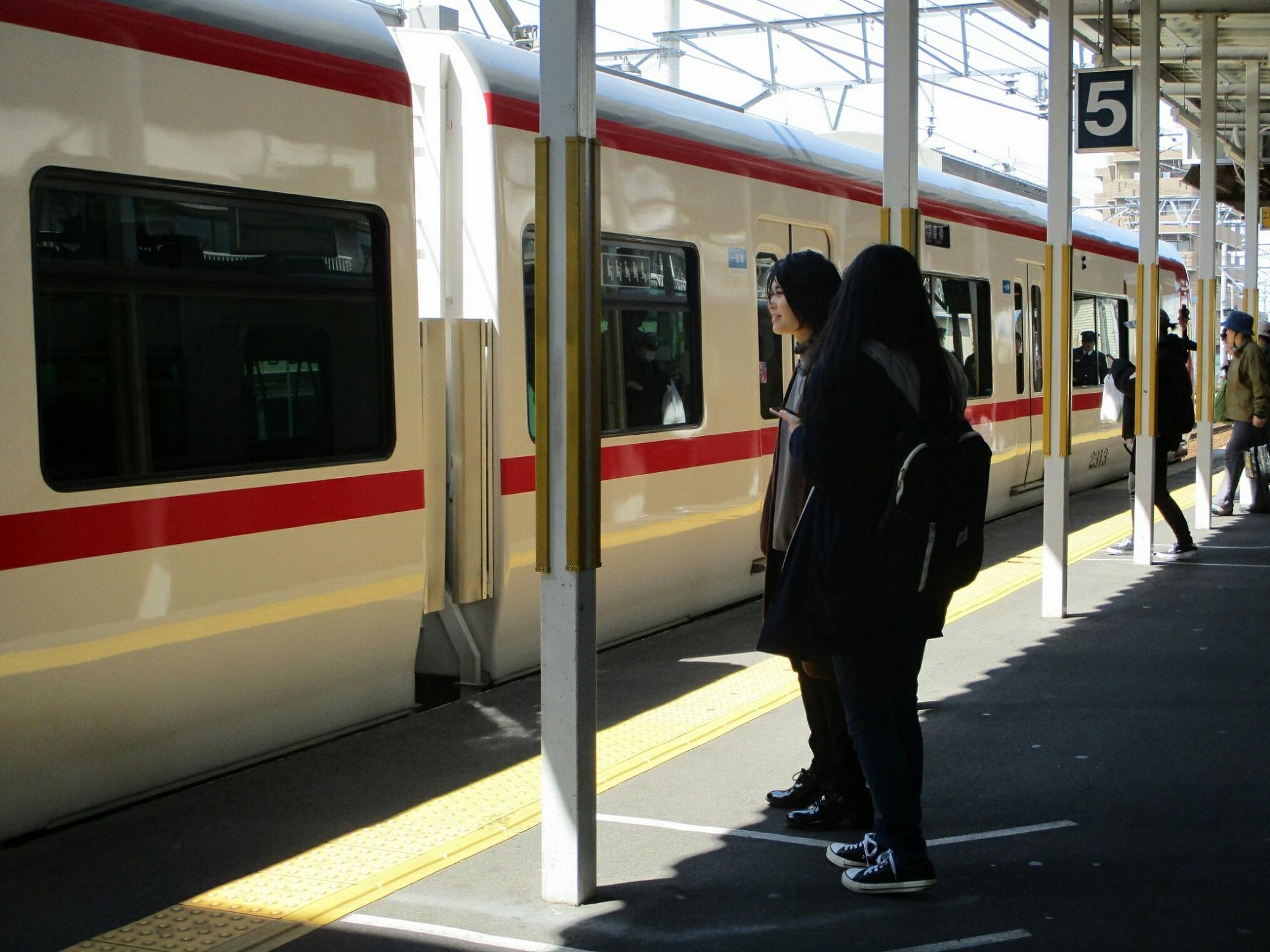 2019.4.3 (4) しんあんじょう - 豊橋いき特急 2000-1500