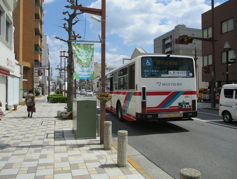 2019.4.3 (12) 康生町バス停 - 市民病院いきバス 1980-1500