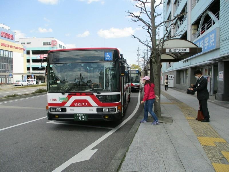 2019.4.3 (20) 東岡崎 - 美合駅いきバス 2000-1500