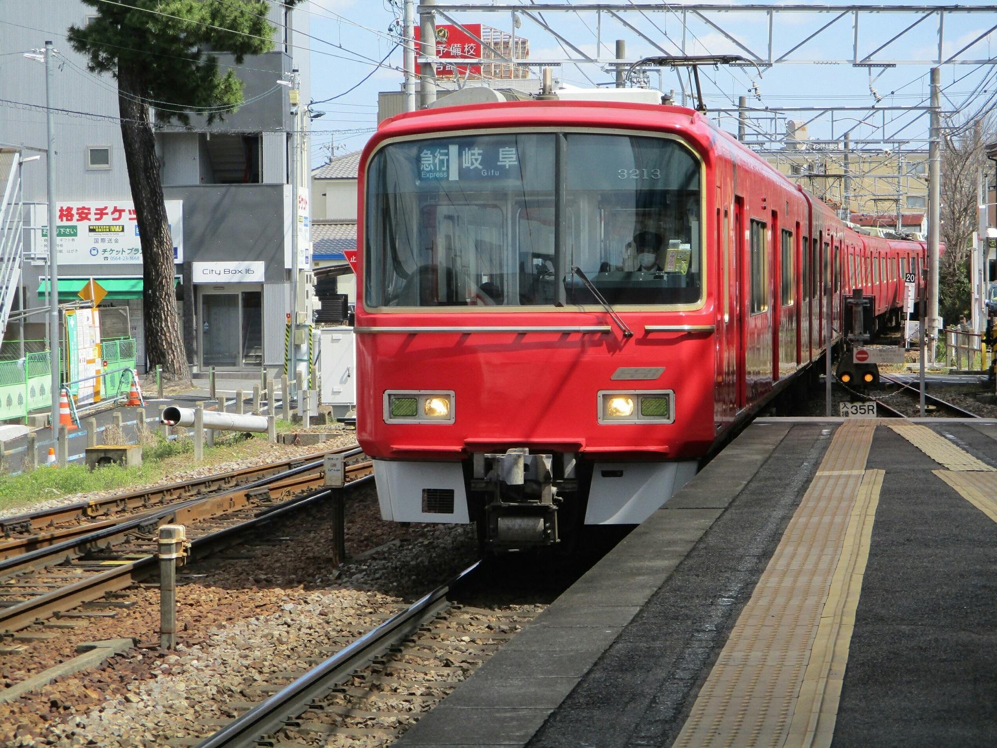 2019.4.3 (21) 東岡崎 - 岐阜いき急行 2000-1500