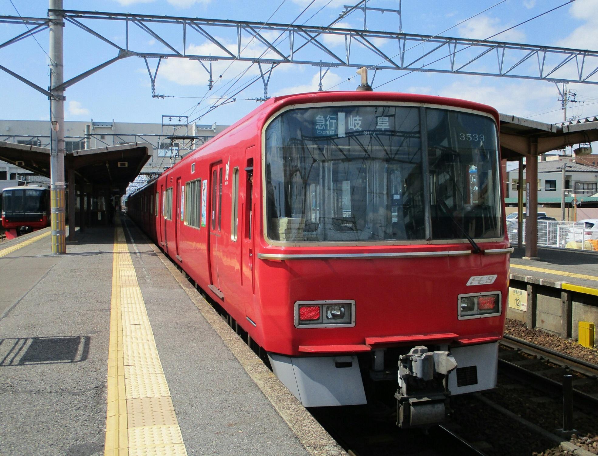 2019.4.3 (22) 東岡崎 - 岐阜いき急行 1970-1500