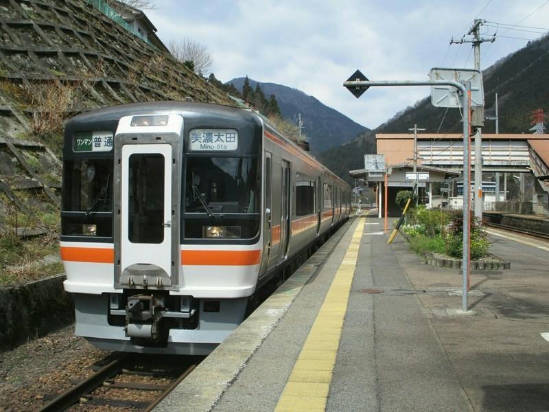 2019.4.4 (113) 白川口 - 美濃太田いきふつう 2000-1500