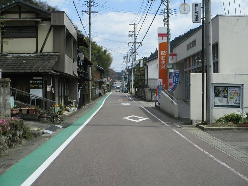 2019.4.4 (129) 白川町 - きたどおり(郵便局) 2000-1500