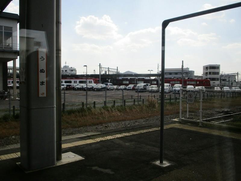 2019.4.4 (152) 名古屋いきワイドビューひだ - 鵜沼 1600-1200
