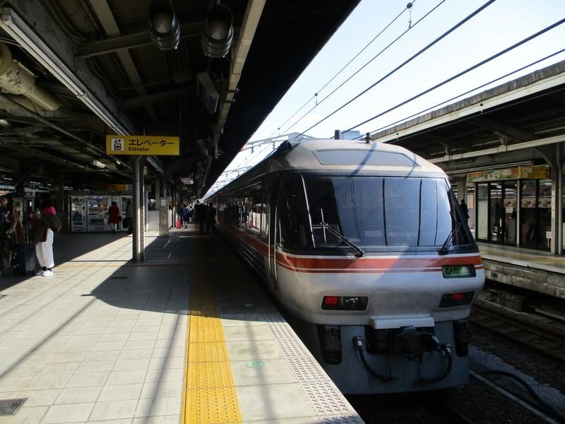 2019.4.4 (155) 名古屋 - 名古屋いきワイドビューひだ 2000-1500