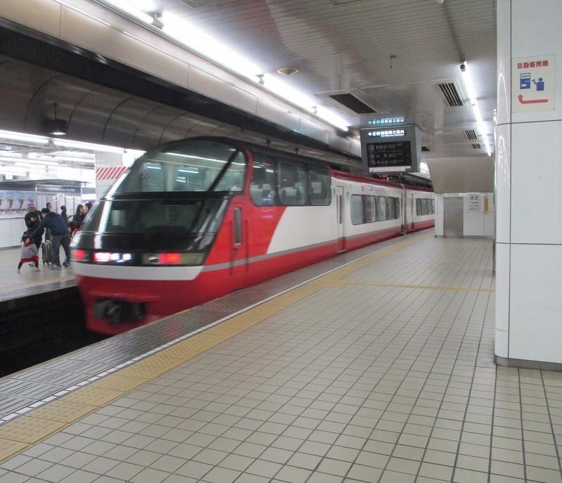 2019.4.5 (6) 名古屋 - 岐阜いき特急 1350-1160
