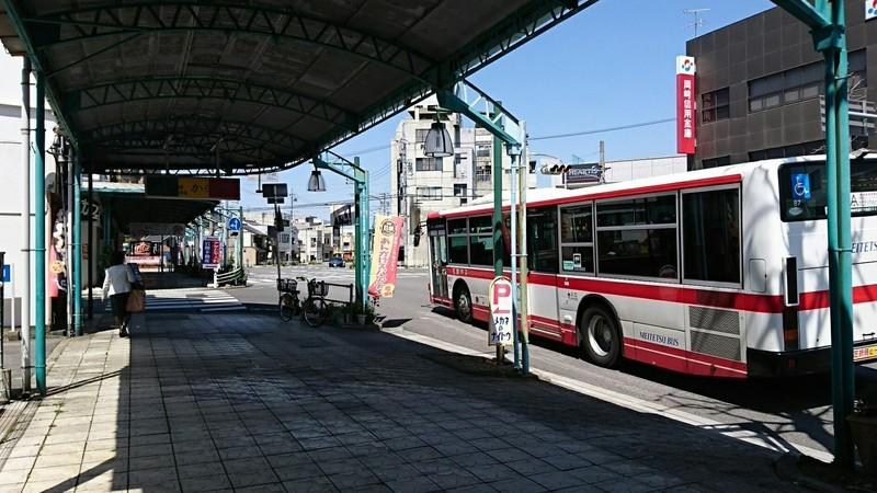 2019.4.8 (10) 本町バス停 - 東名岩津いきバス 1440-810