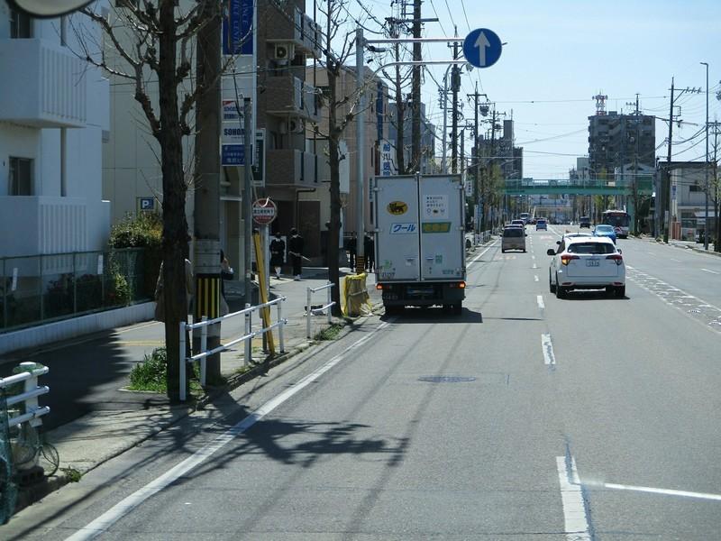2019.4.9 (8) JR岡崎駅いきバス - 国立研究所下バス停 1800-1350