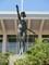 2019.4.9 (12) 岡崎市体育館 - 「静動」銅像 1500-2000