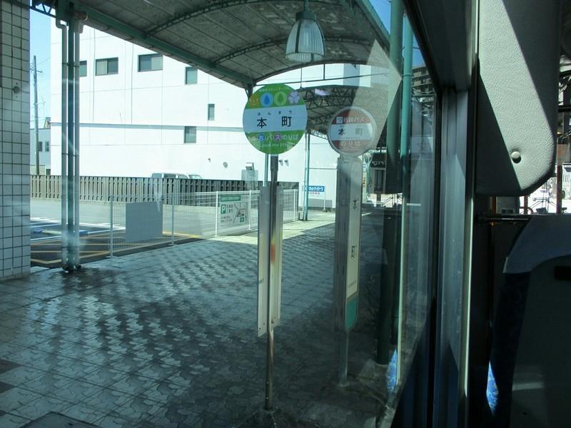 2019.4.9 (21) 滝団地いきバス - 本町バス停 1400-1050