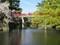 2019.4.9 (34) 岡崎公園 - 竜城堀(たつきぼり)と神橋(しんきょう) 2000-1