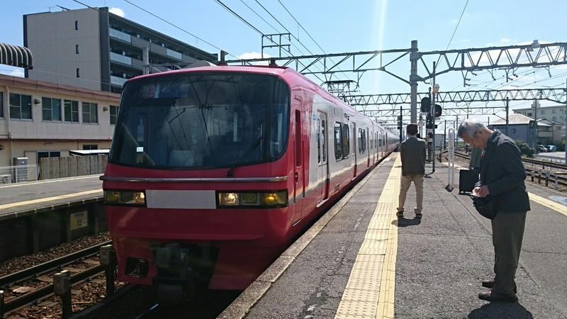 2019.4.15 (2) しんあんじょう - 岐阜いき特急 1850-1040