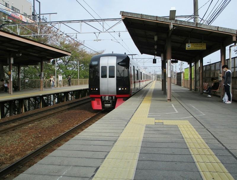 2019.4.19 (13) 岡崎公園前 - 新鵜沼いき快速特急 1980-1500