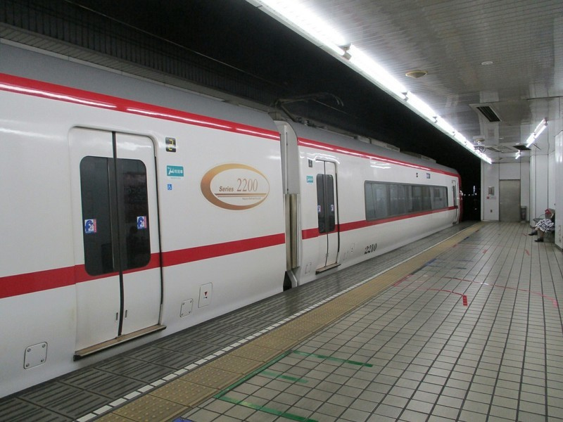 2019.4.23 (6) 名古屋 - 岐阜いき特急 1800-1350