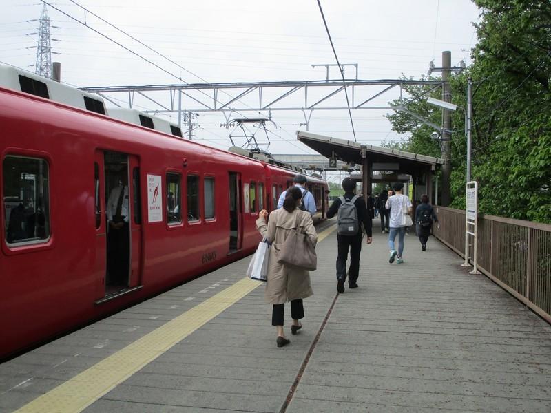 2019.4.25 (11) 岡崎公園前 - 東岡崎いきふつう 2000-1500