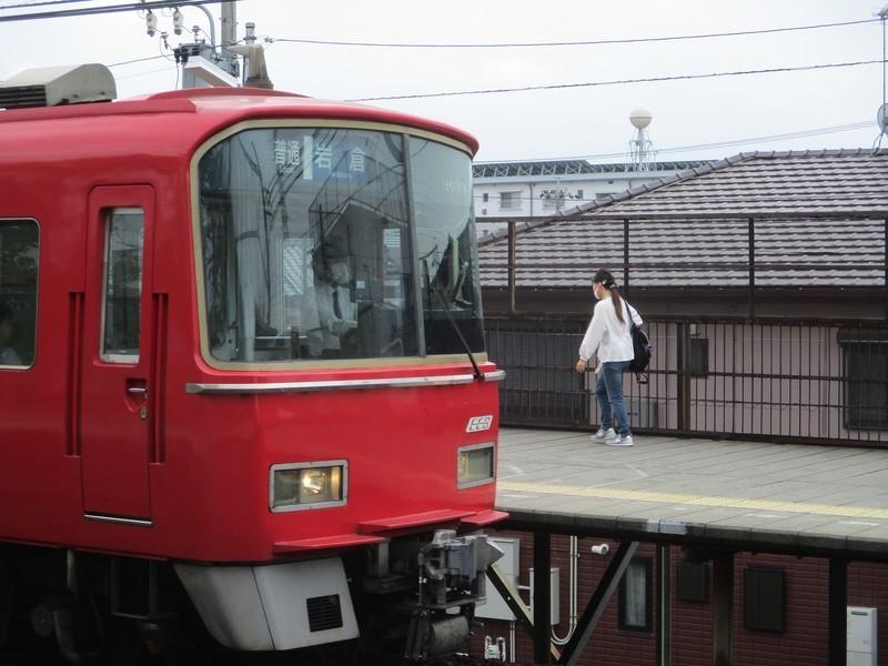 2019.4.25 (12) 岡崎公園前 - 岩倉いきふつう 2000-1500