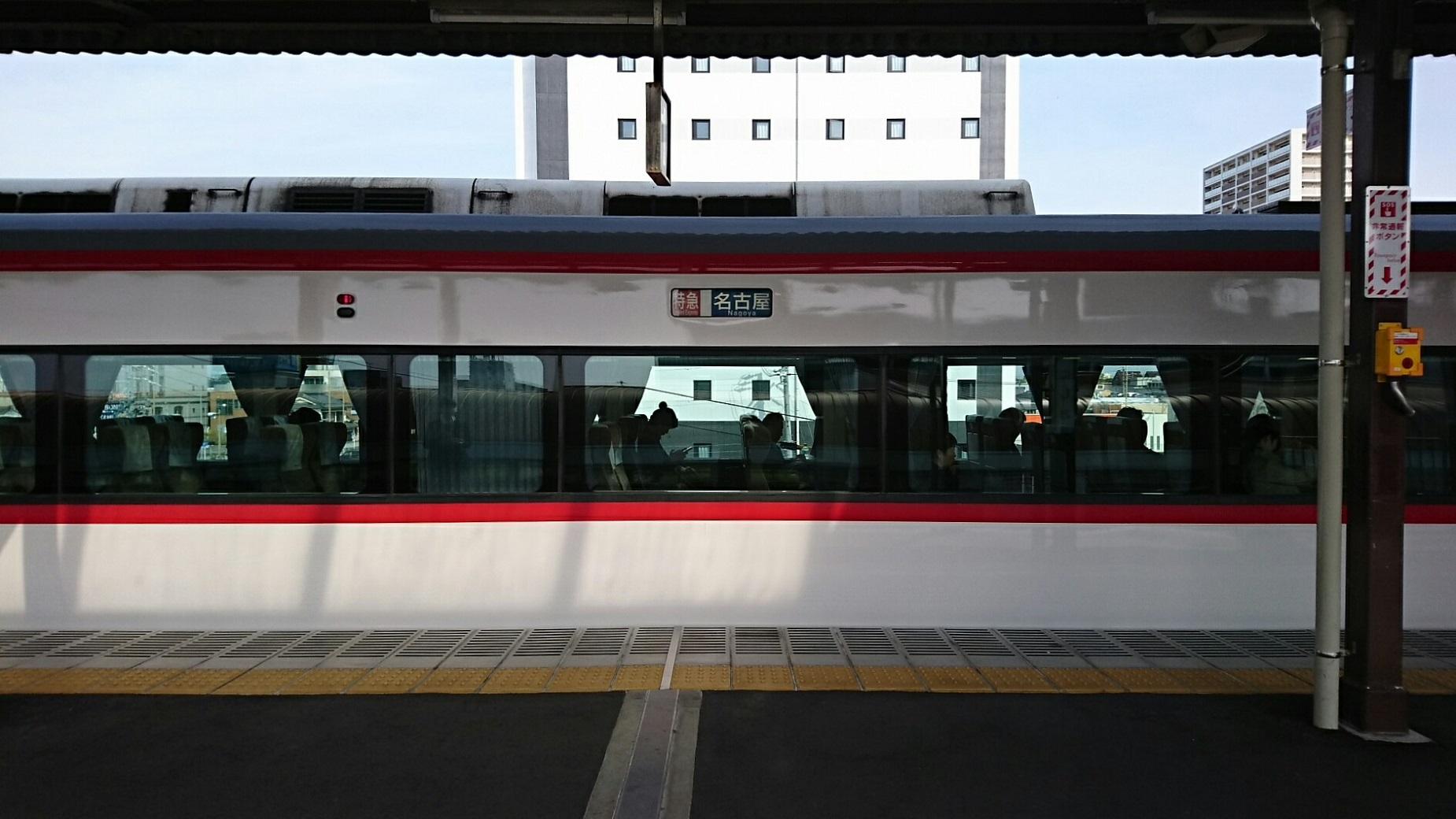 2019.5.3 (1002) 西尾 - 名古屋いき特急 1850-1040
