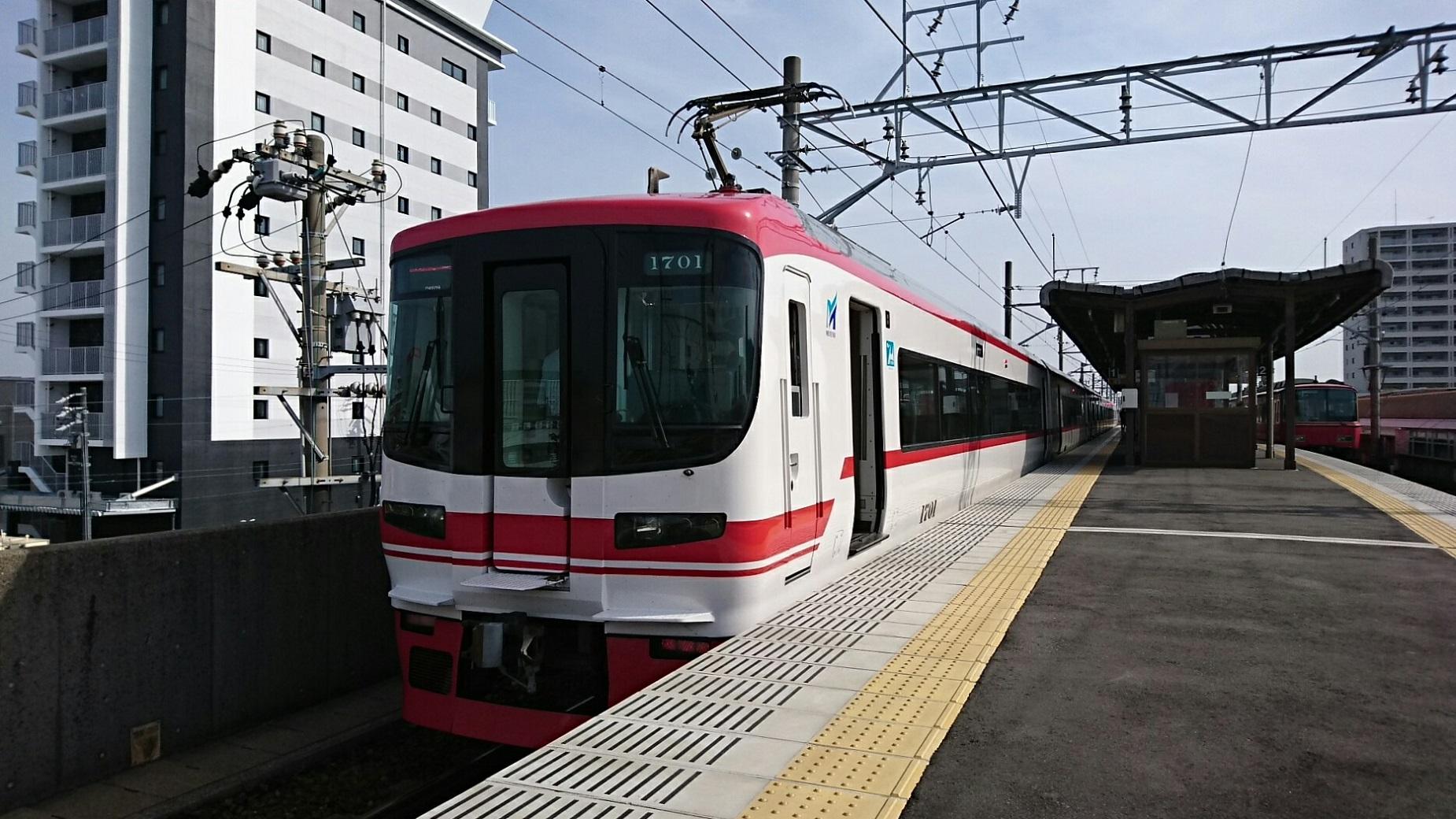 2019.5.3 (1003) 西尾 - 名古屋いき特急 1850-1040