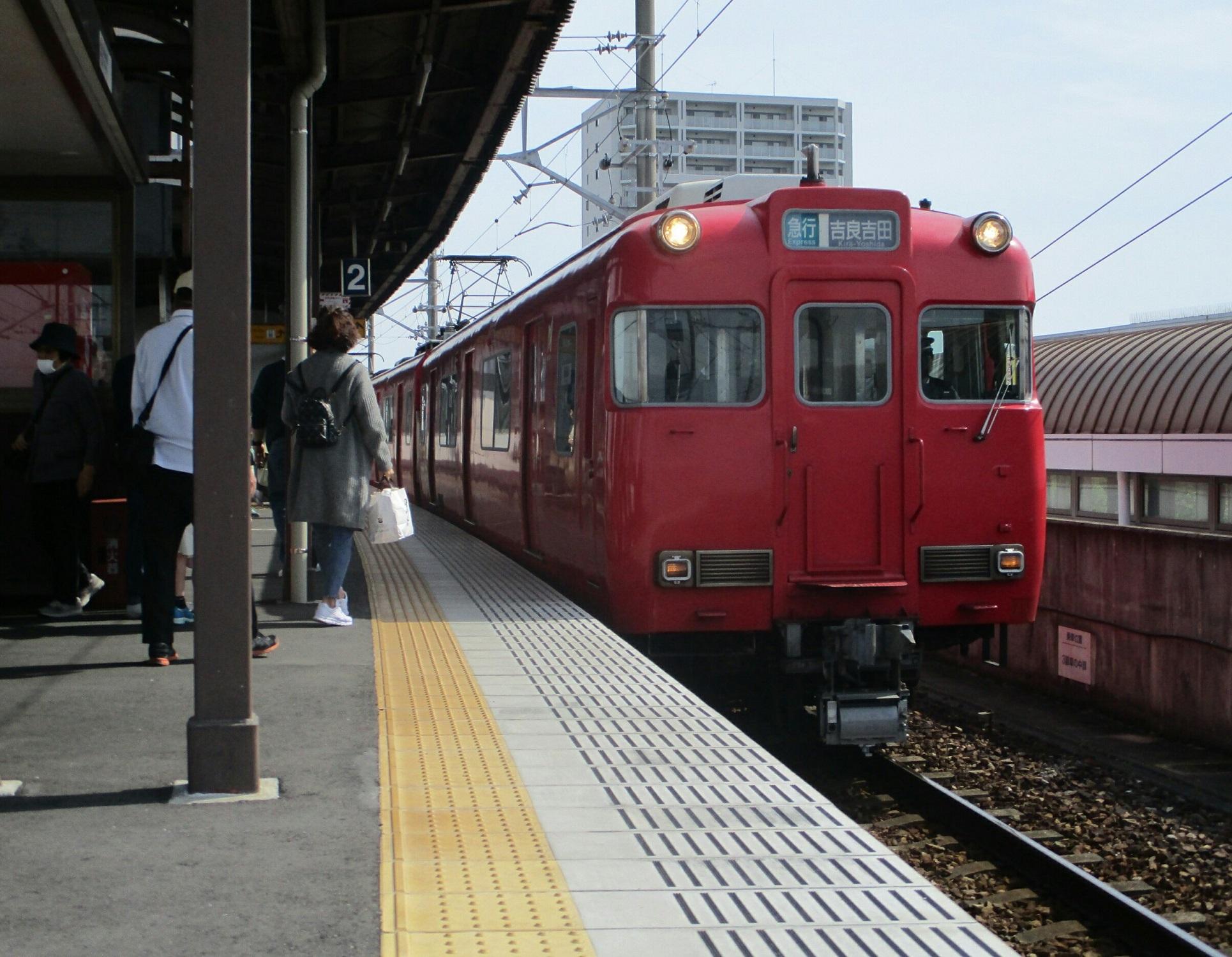 2019.5.3 (8) 西尾 - 吉良吉田いき急行 1930-1500