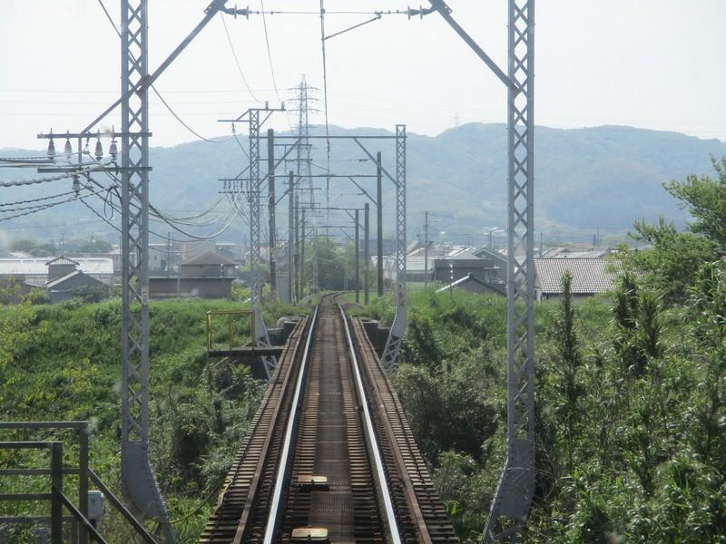 2019.5.3 (13) 吉良吉田いき急行 - 広田川をわたる 1600-1200