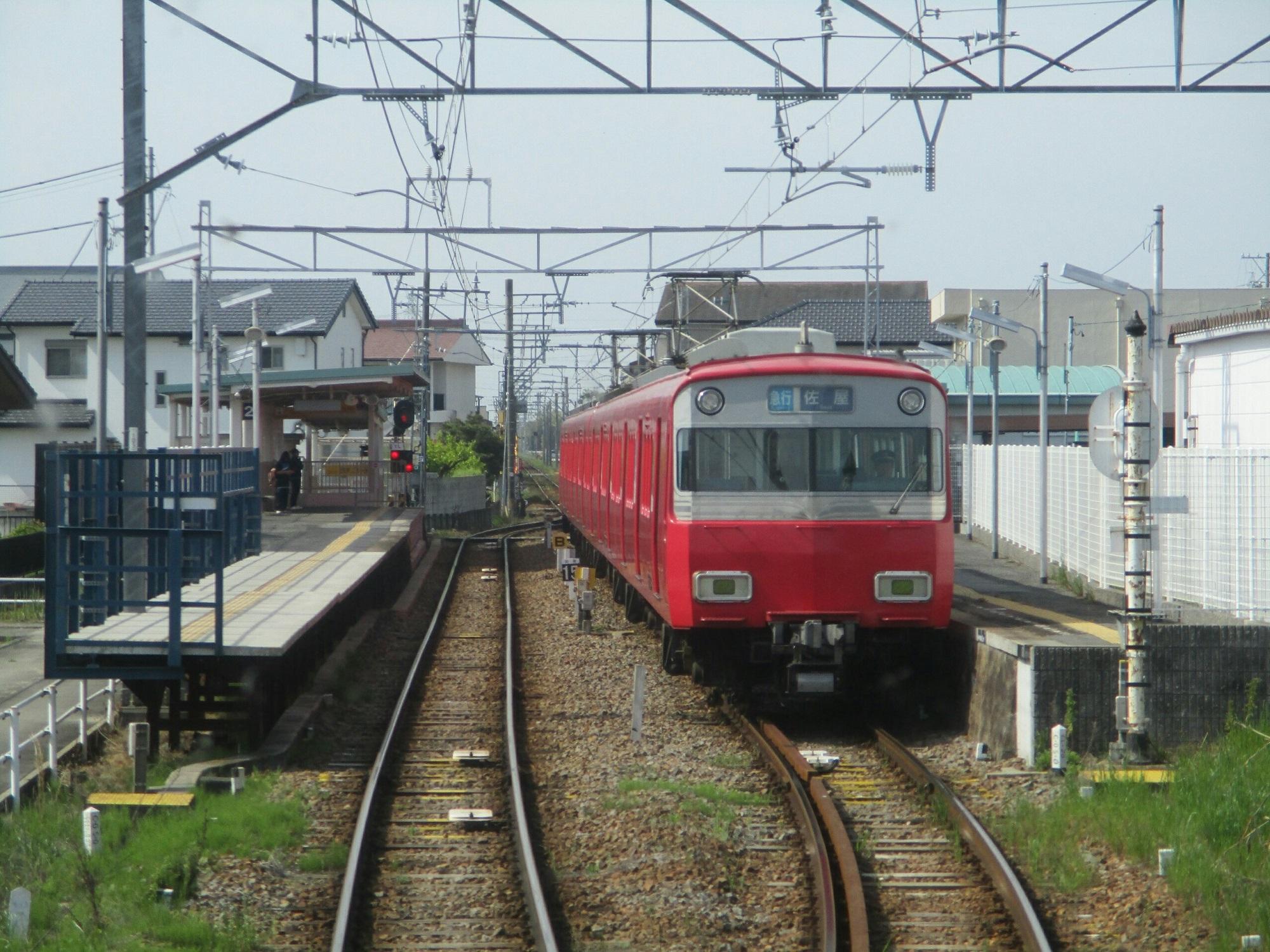 2019.5.3 (14) 吉良吉田いき急行 - 上横須賀(佐屋いき急行) 2000-1500