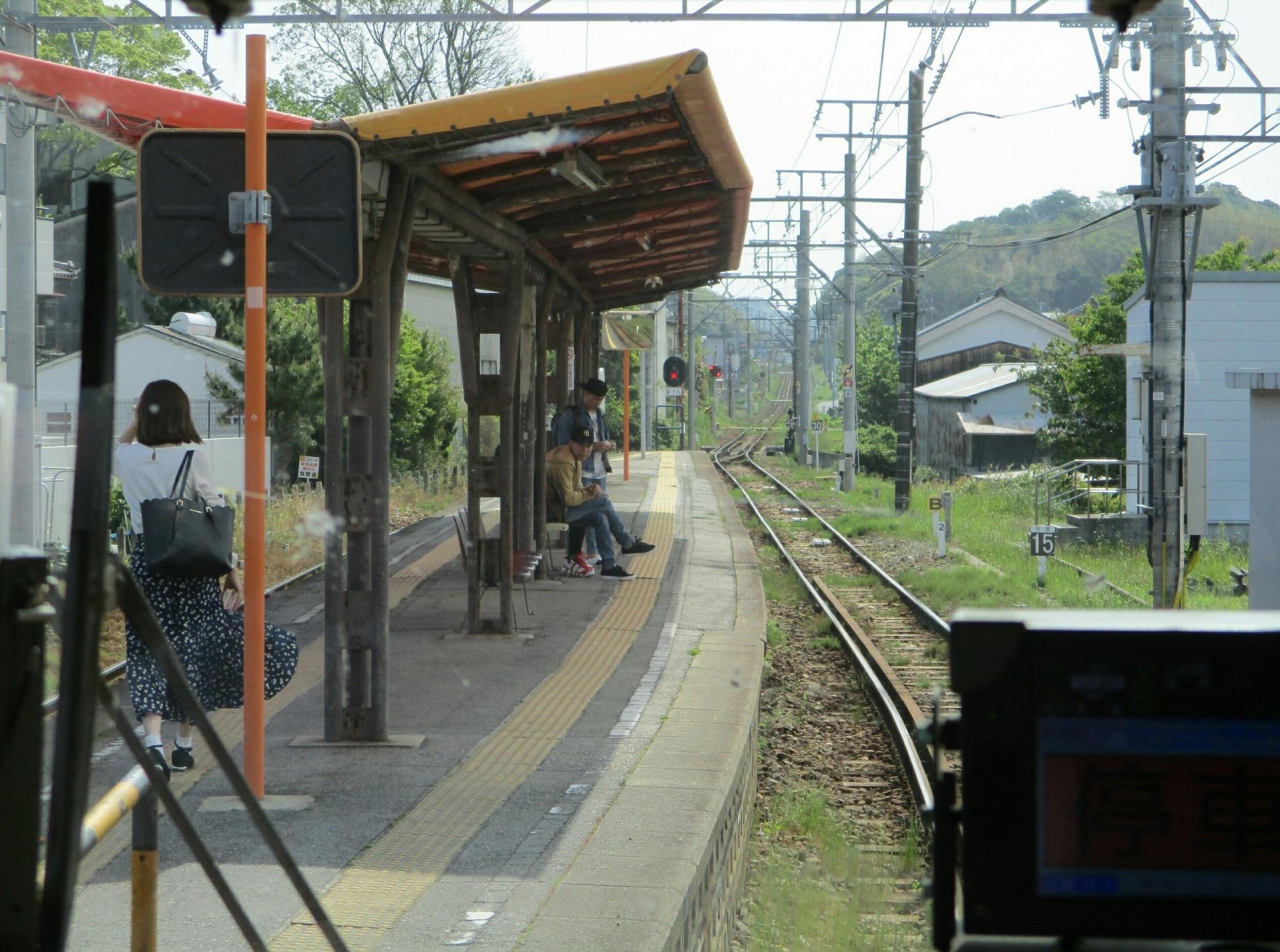 2019.5.3 (21) 蒲郡いきふつう - 西幡豆 1990-1480