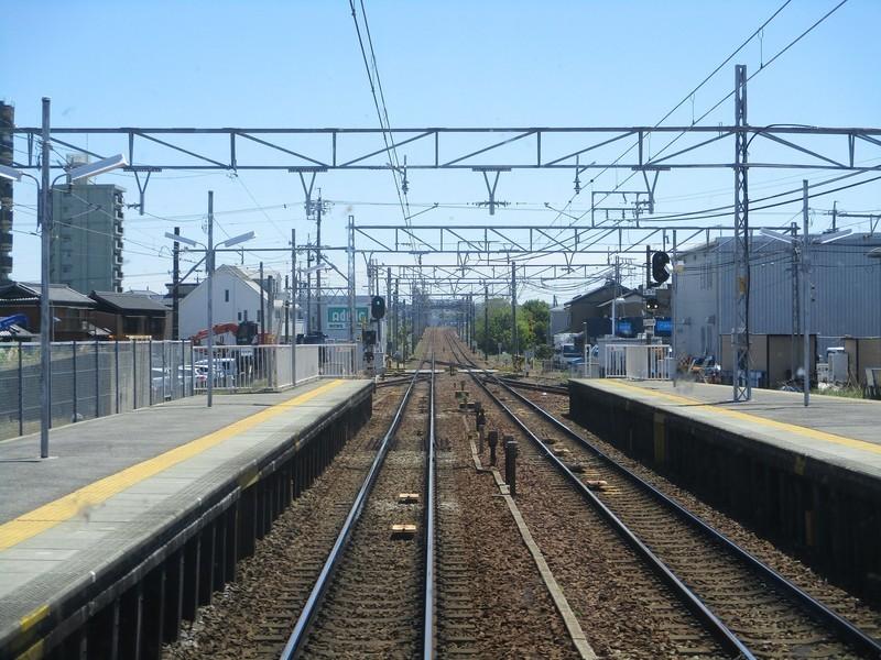 2019.5.7 (2) 東岡崎いきふつう - 矢作橋しゅっぱつ 1600-1200