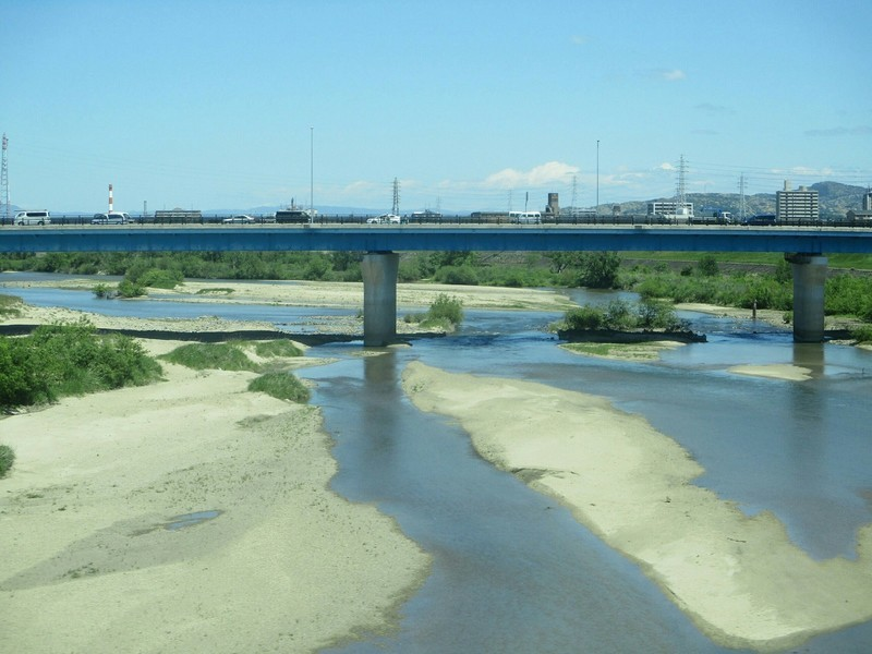 2019.5.7 (5) 東岡崎いきふつう - 矢作川をわたる 1600-1200