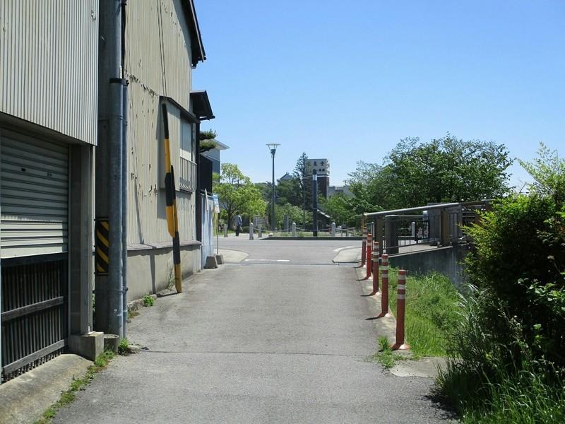 2019.5.7 (28) 岡崎城下27まがり - 「を」(三清橋) 1200-900
