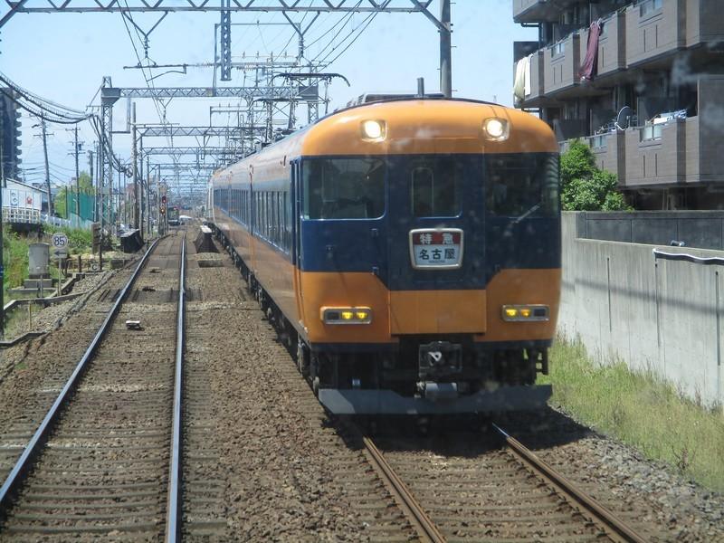 2019.5.8 (14) 松阪いき急行 - 戸田蟹江間(名古屋いき特急) 1600-1200