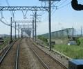 2019.5.8 (19) 松阪いき急行 - 木曽川鉄橋 1630-1350