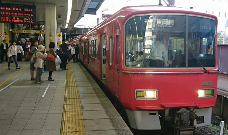 2019.5.8 (1012) 金山 - 東岡崎いきふつう 1720-1020