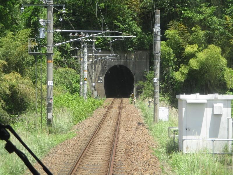 2019.5.22 (54) 中津川いき快速 - 武並恵那間(新槙ヶ根トンネル) 2000-1500