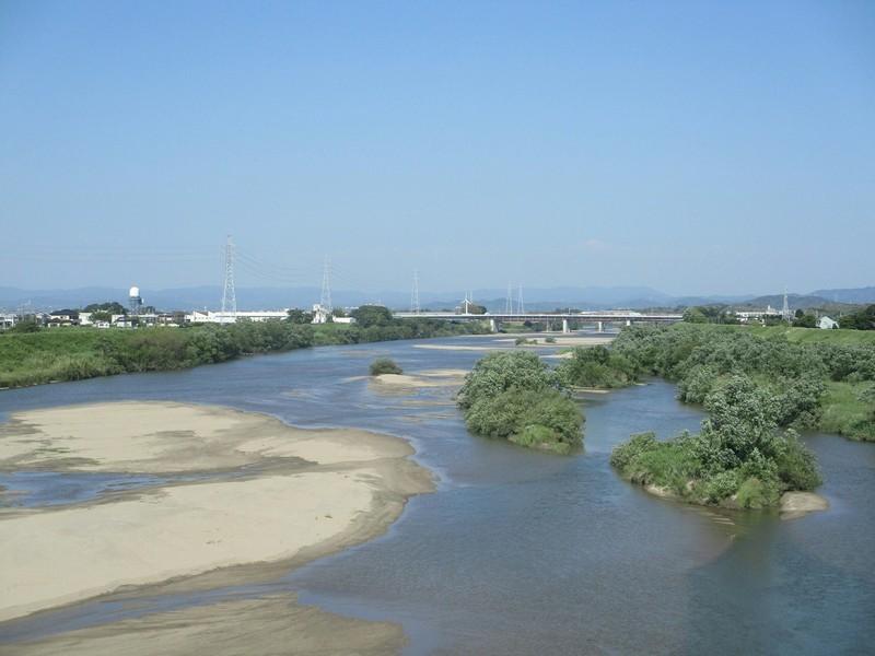 2019.5.24 (8) 西尾いきふつう - 矢作川をわたる 2000-1500