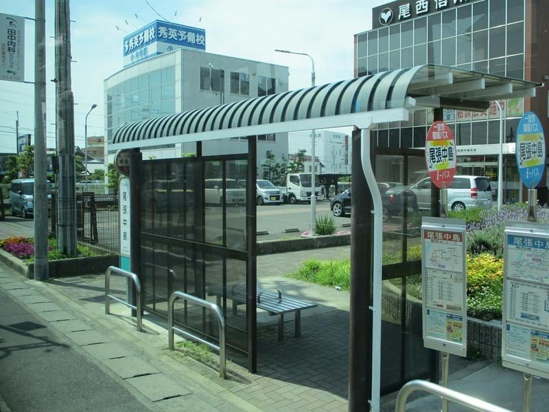 2019.5.27 (73) 名鉄一宮駅いきバス - 尾張中島バス停 2000-1500