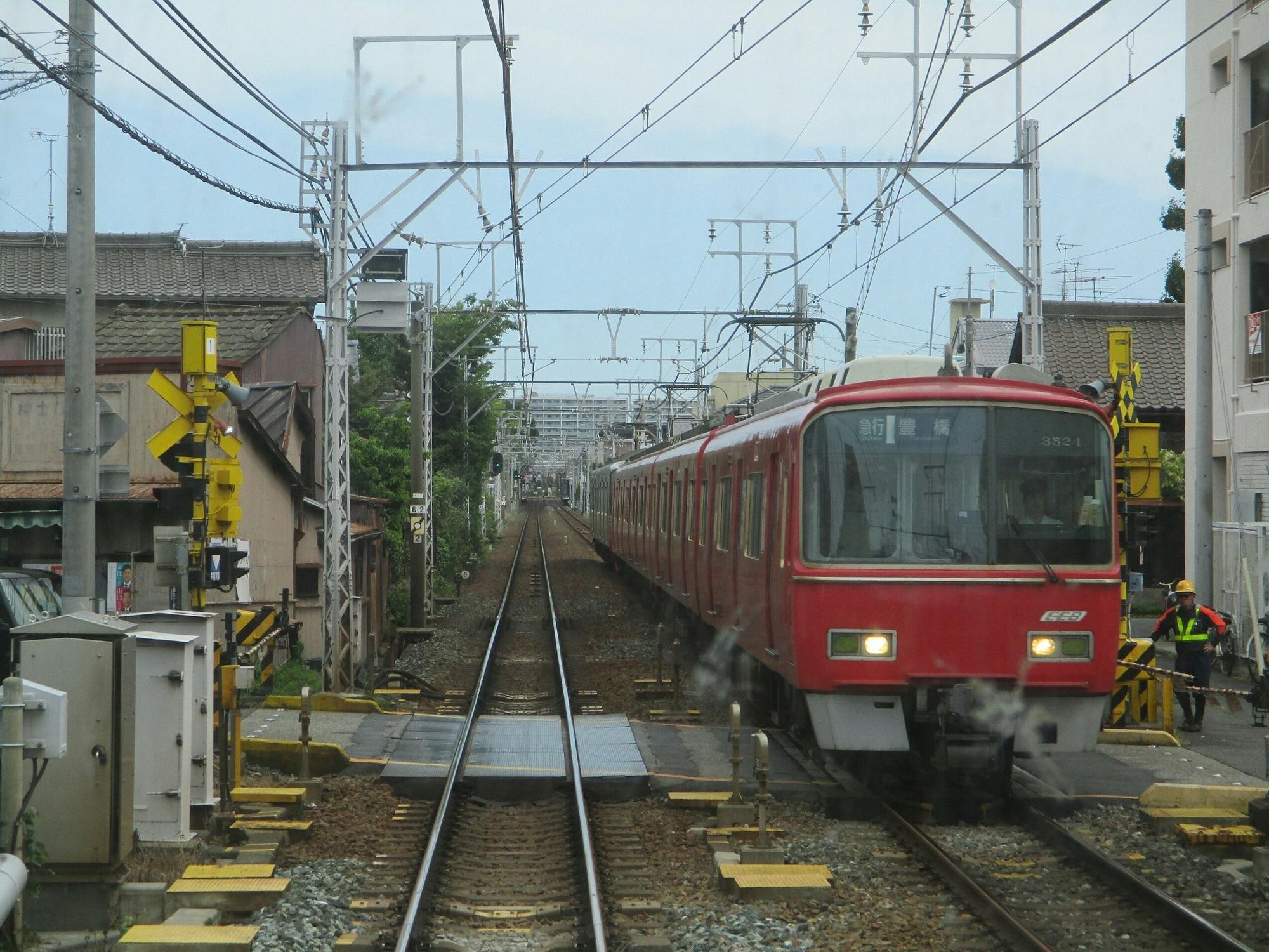 2019.5.29 (28) 一宮いき急行 - 本笠寺桜間(豊橋いき急行) 2000-1500