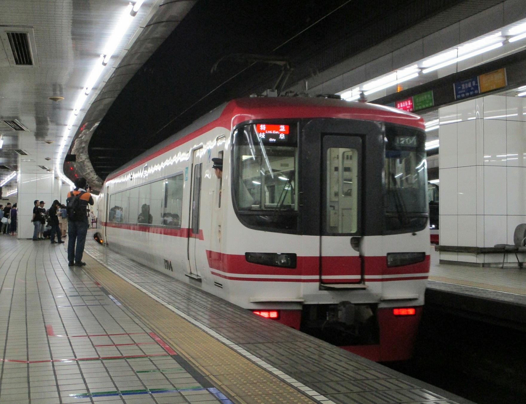 2019.6.2 (9) 名古屋 - 岐阜いき特急 1760-1350