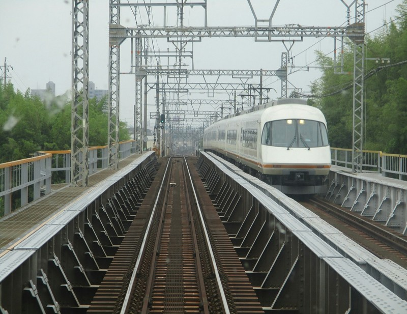 2019.6.2 (51) 松阪いき急行 - 朝明川鉄橋(アーバンライナー) 1750-1350