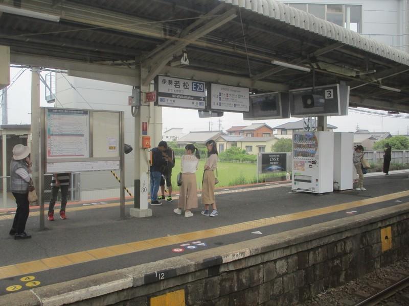 2019.6.2 (78) 松阪いき急行 - 伊勢若松 1800-1350