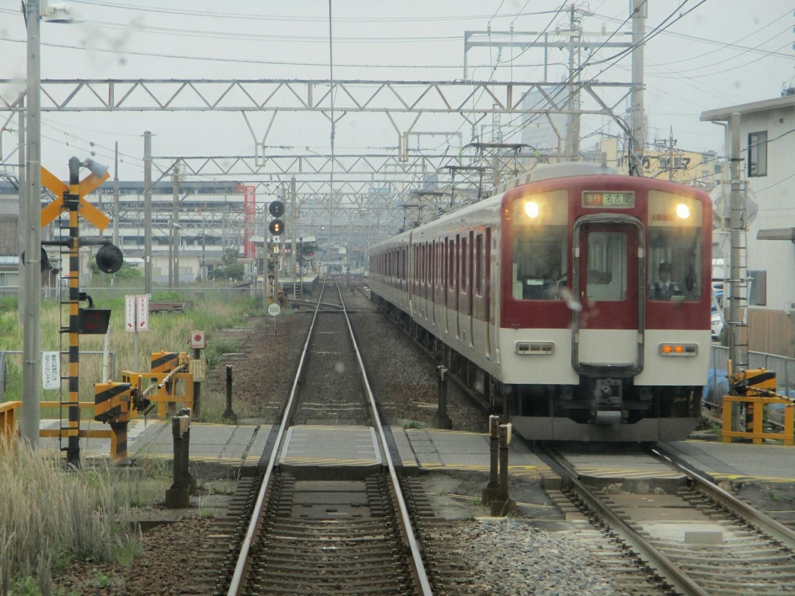 2019.6.2 (91) 松阪いき急行 - 江戸橋てまえ(名古屋いき急行) 1600-1200