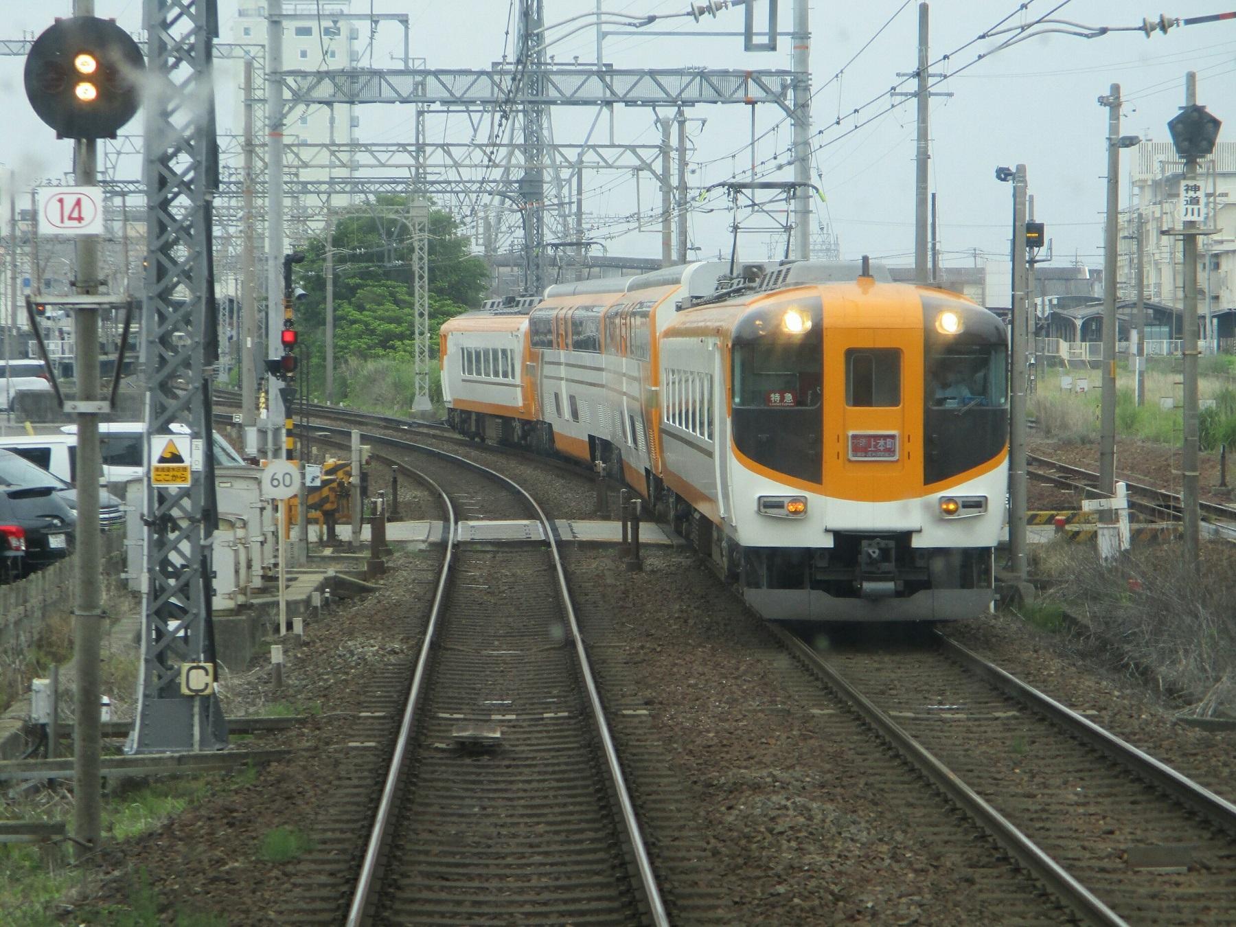 2019.6.2 (106) 松阪いき急行 - 松阪てまえ(大阪上本町いき特急) 1800-1350