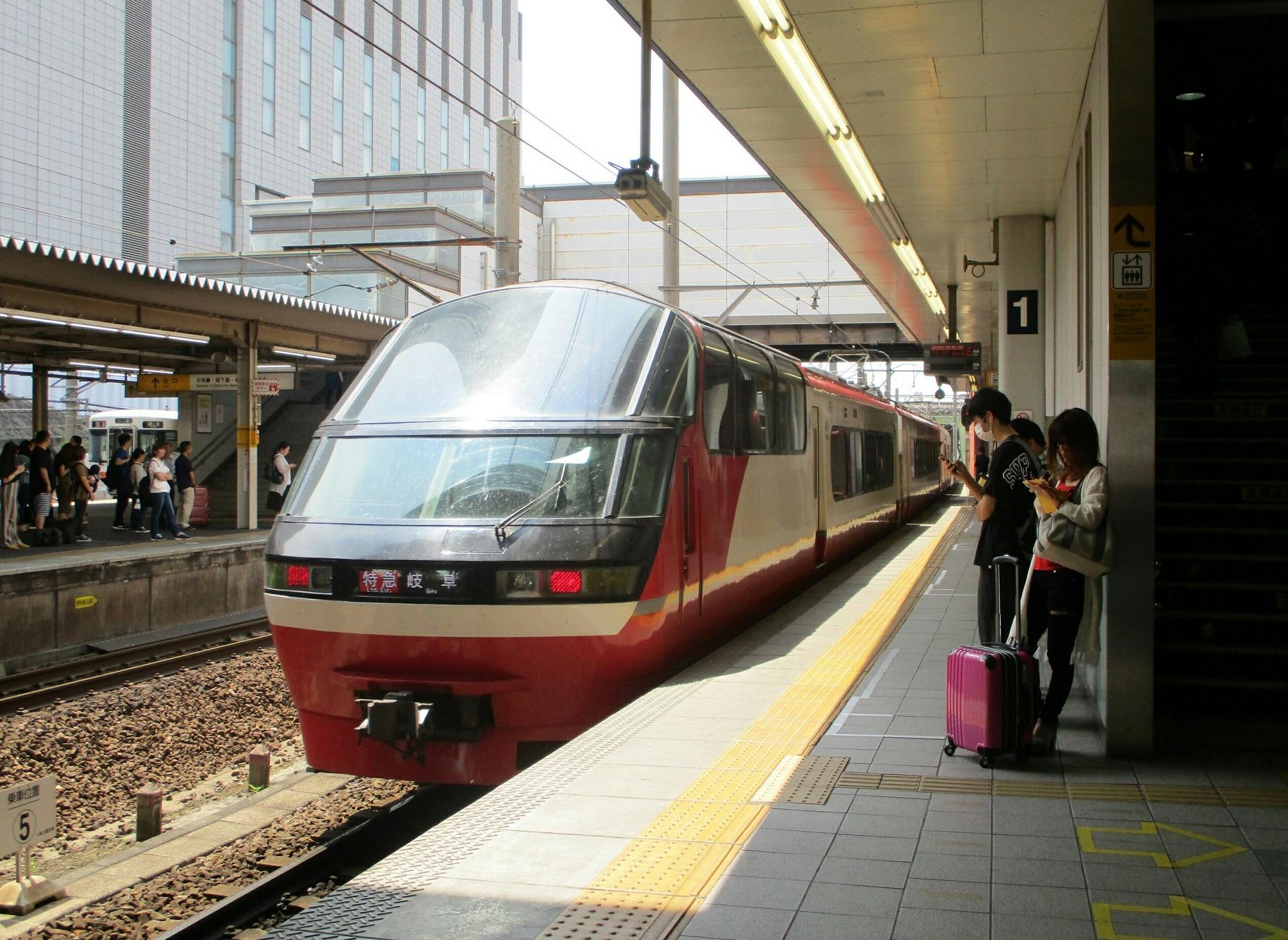 2019.6.3 (6) 金山 - 岐阜いき特急 2000-1460