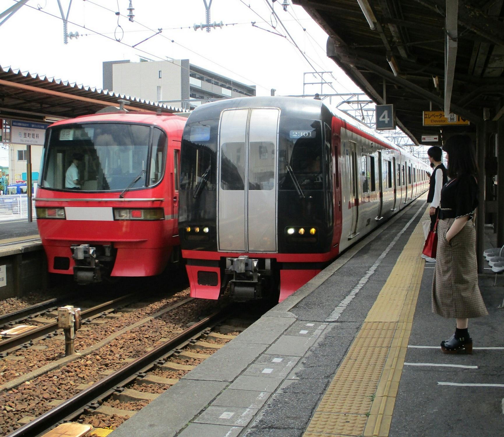2019.6.4 (3) しんあんじょう - 岐阜いき特急 1730-1500
