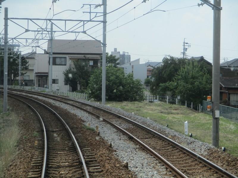 2019.6.5 (9) 岐阜いき特急 - 知立連絡線分岐あと 1600-1200