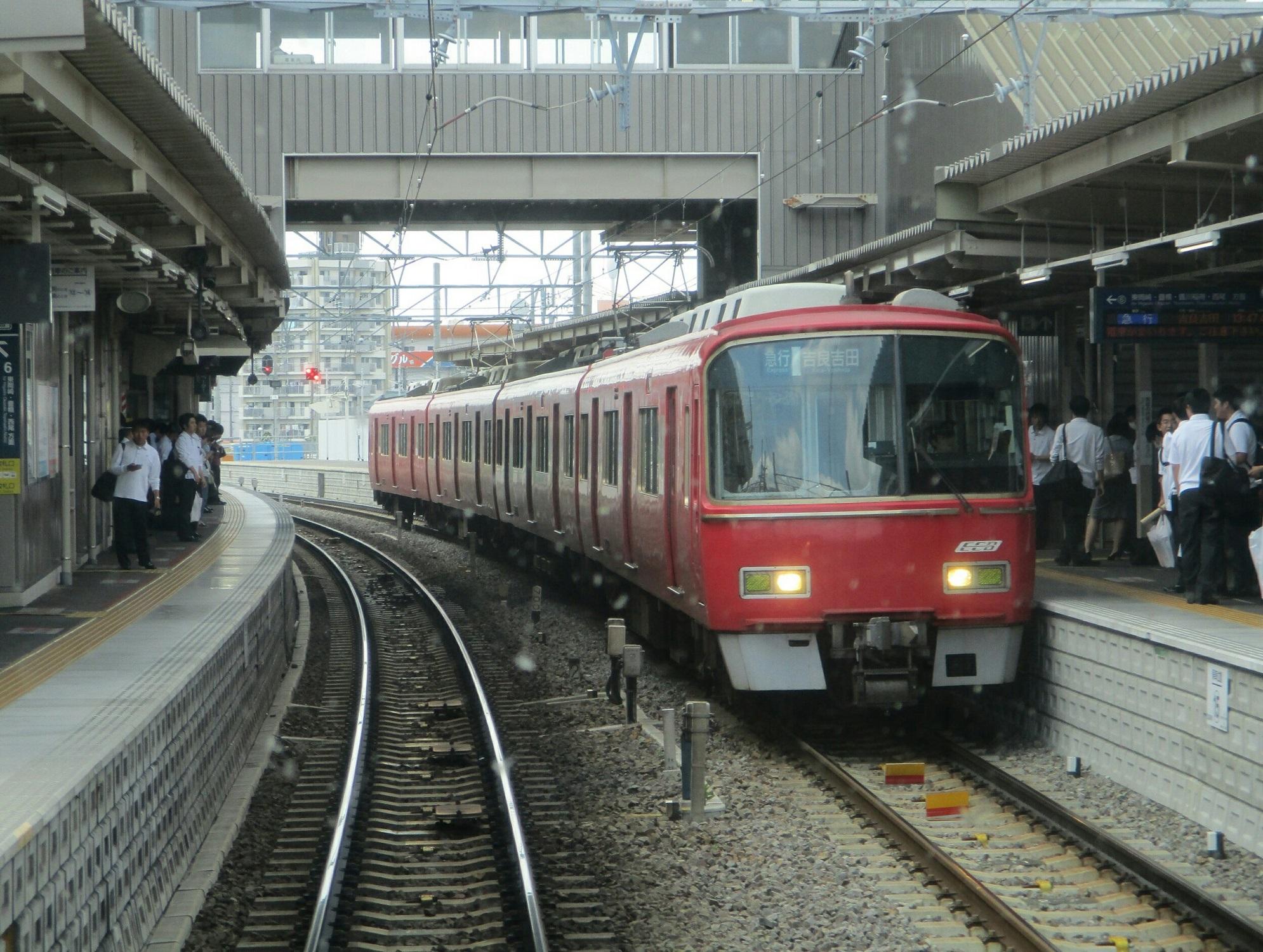 2019.6.5 (12) 岐阜いき特急 - 知立(吉良吉田いき急行) 1990-1500
