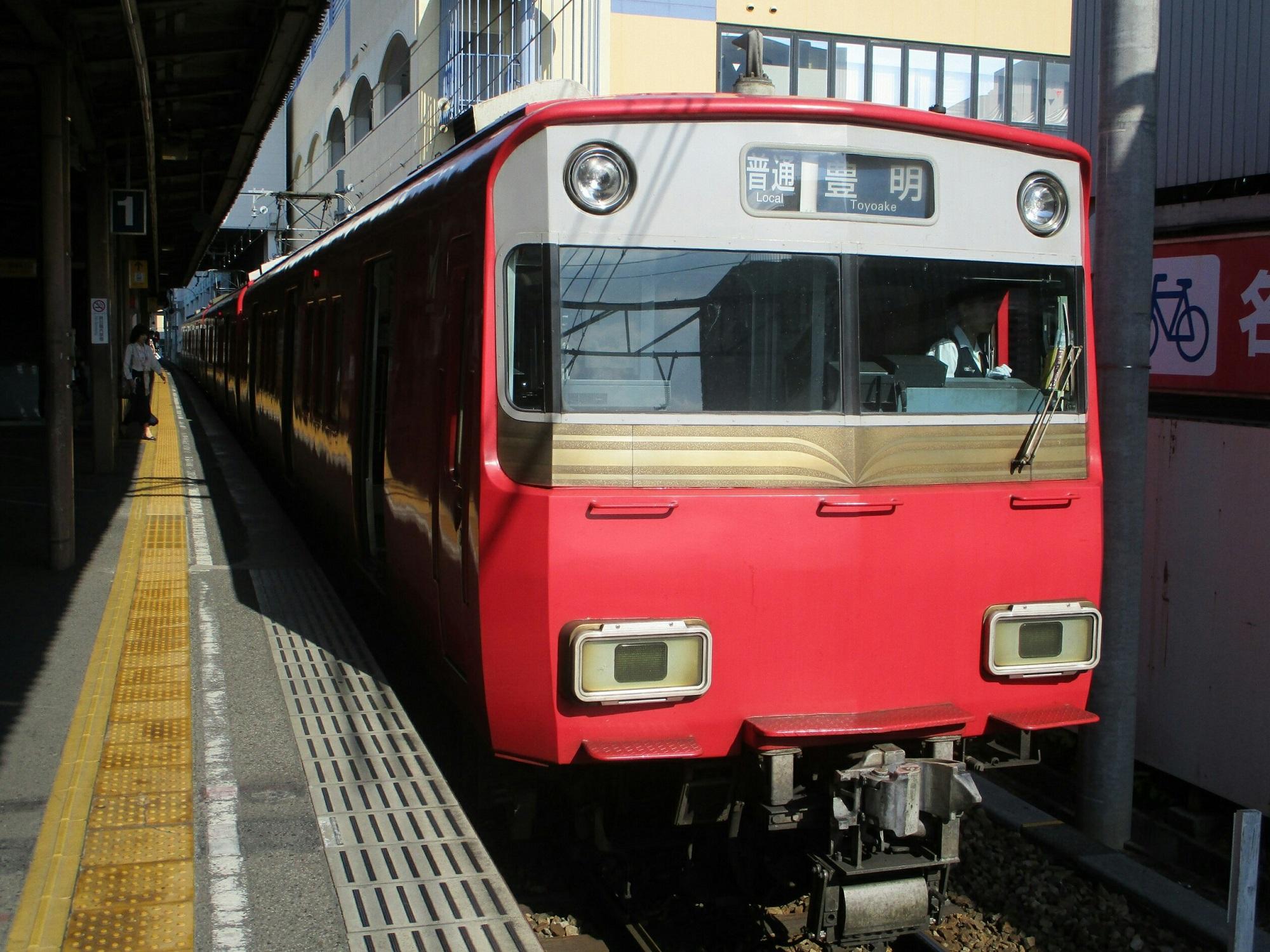 2019.6.5 (40) 東岡崎 - 豊明いきふつう 2000-1500
