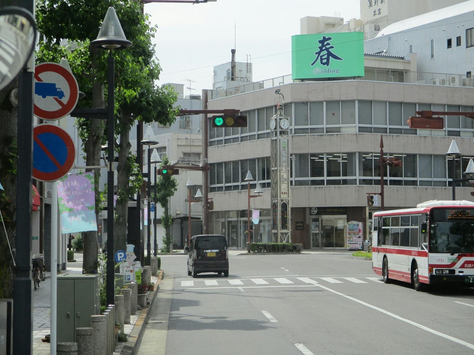 2019.6.6 (9) JRあんじょうえきいきバス - 篭田公園前バス停 1600-1200