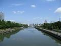 2019.6.11 (13) 堀川 - 熱田記念橋からかわかみをみる 1970-1500
